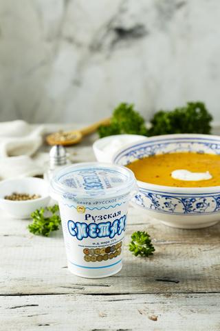 Тыквенный Суп с Рузской Сметаной