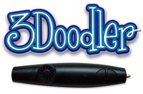 3Doodler - 3D ручка, которая рисует в воздухе.