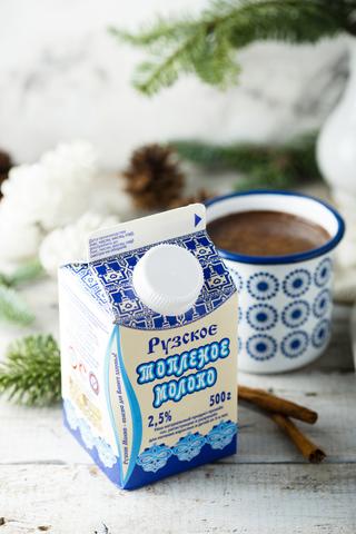 Какао с топленым молоком