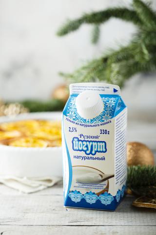 Цитрусовый пирог на Рузском Йогурте