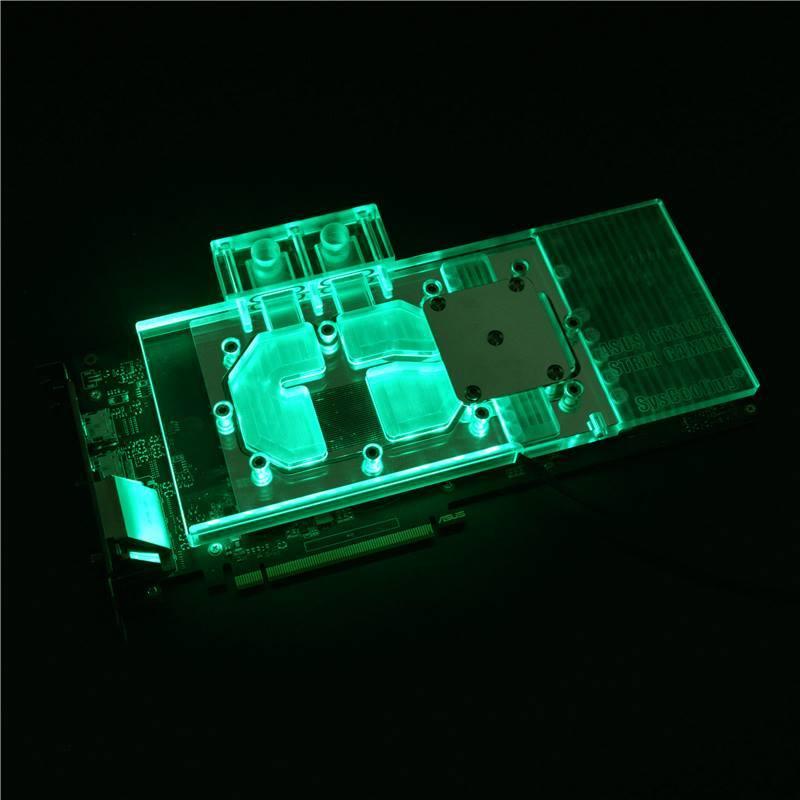 Syscooling демонстрирует водоблоки для ASUS ROG STRIX GTX 1060