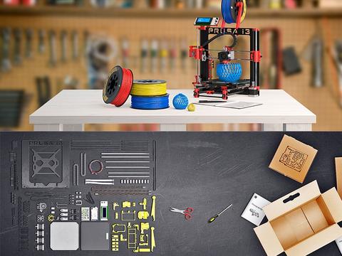 Возможности апгрейда 3D принтера Prusa i3 Hephestos