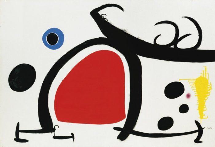 Искусство сюрреализма Жоана Миро на фарфоре Bernardaud.