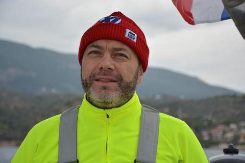 Игорь во время регаты по Греции