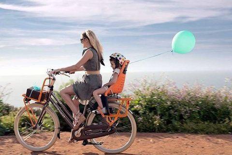 Как выбрать велокресло для ребенка?