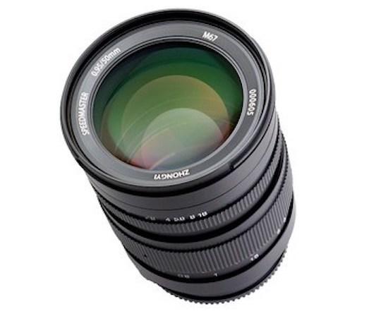 Представлены объективы Speedmaster 50mm F0.95 III и 7Artisan 60mm f/2.8 для Sony E