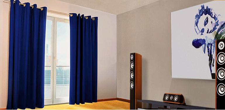 Акустические шторы: инновационное изделие для вашего дома