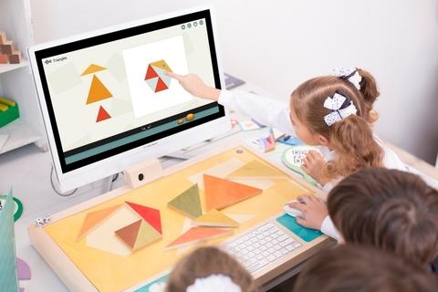 Развивающие игры для начальной школы. Новая интерактивно-образовательная система.