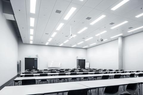 Освещение актовых залов и конференц-холлов