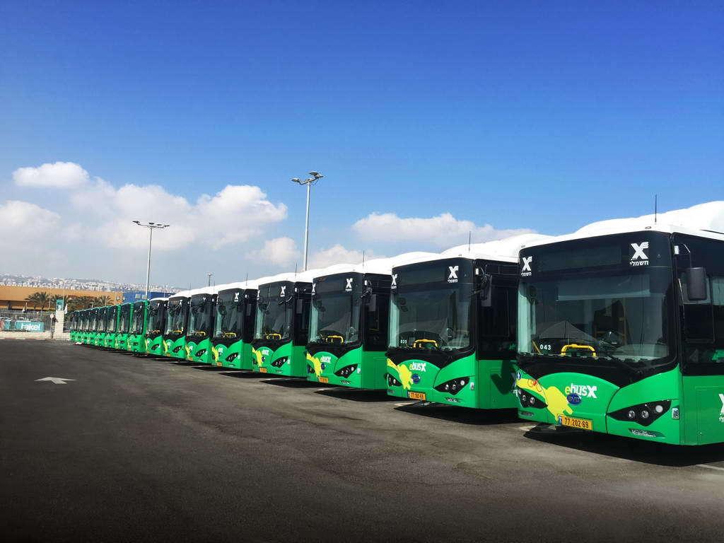 Электробусы Eberspaecher от BYD и Golden Dragon