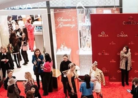 Бутик OMEGA Esentai Mall: закрытый коктейль и презентация новых коллекций в бутике