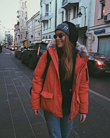 Аня и московские улицы