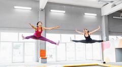 Чудо-носки для йоги, батута – секрет противоскользящего эффекта!