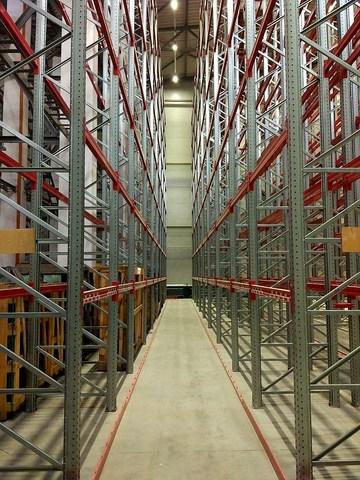Проект освещения склада с высотой потолков 12м. в Красногорске
