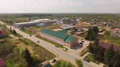 Аэрофотосъемка многофункционального комплекса «Selhozka Loft»