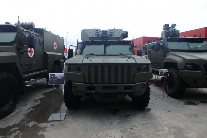 Войска получат усовершенстванный Тайфун-ВДВ