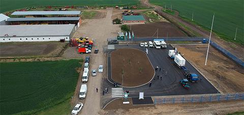 Газпром развивает газозаправочную сеть в Краснодарском крае в сотрудничестве с сельхозпроизводителями