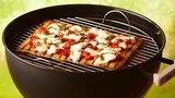 Рецепт пиццы с лососем на гриле