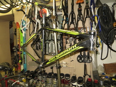 В разбор поступил очень редкий велосипед Bergamont Tattoo LTD размером 51 см.