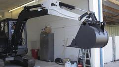 Экскаватор напечатан на 3D–принтере