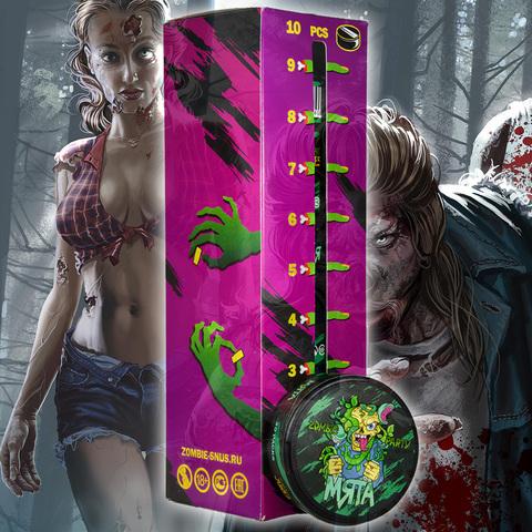 Скоро поступит в продажу бестабачная смесь Zombie Party