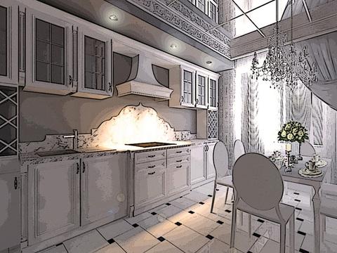 Кухня мечты от