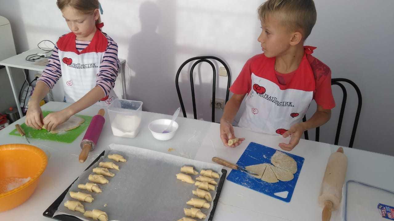 Мастер-класс по приготовлению выпечки в «Романовском Парке»