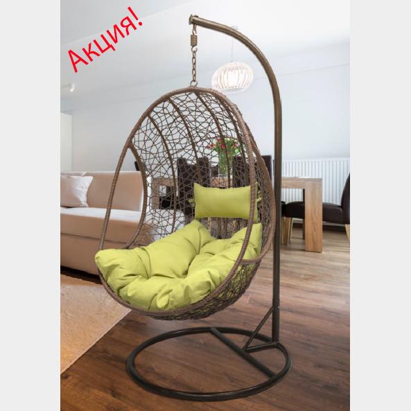 Супер предложение на подвесные кресла из ротанга!