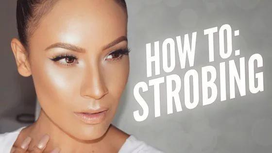 Стробинг или макияж с эффектом сияния Образ, способный добавить лицу свежесть и сияния