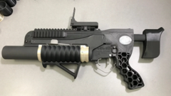 R.A.M.B.O. - гранатомет распечатан на 3D–принтере