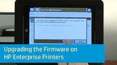 Как проверить версию прошивки на принтерах и плоттерах HP OfficeJet, HP Designjet