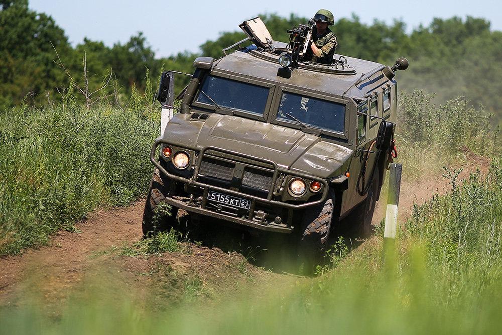 Хаммер российских дорог – бронеавтомобиль «Тигр»