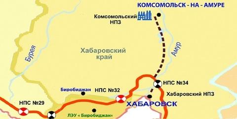 Начались гидравлические испытания линейной части нефтепровода-отвода ВСТО-Комсомольский НПЗ