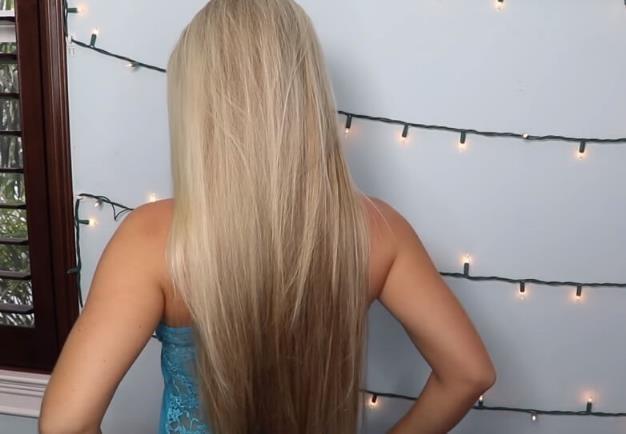 Спрей-блеск для светлых волос. Рецепт.