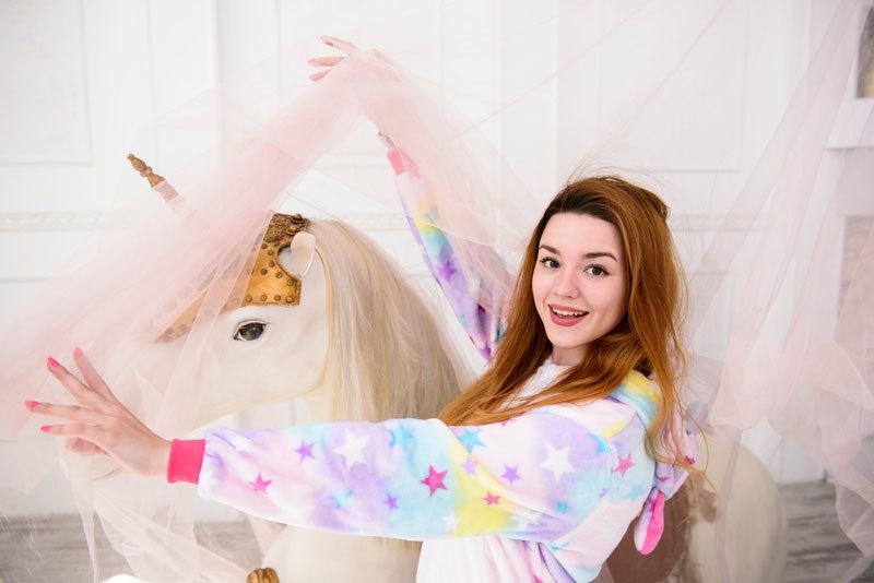 Обзор на пижаму кигуруми Единорог Звездный от Shocolatti.ru