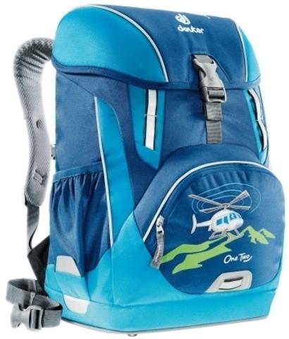 Школьный рюкзак Deuter OneTwo с комплектом аксесуаров. Обзор.