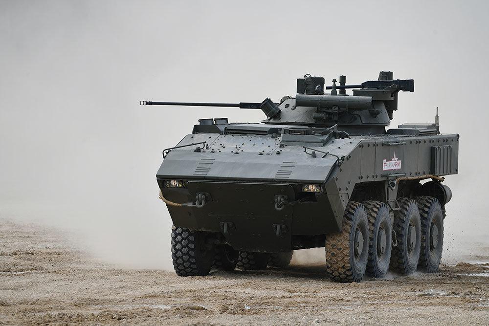 Российское ноу-хай - колесный танк
