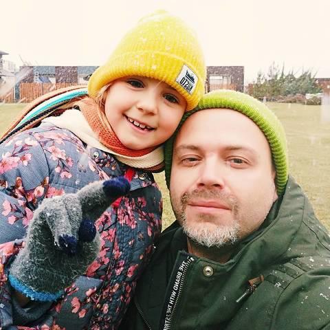 Дмитрий с дочкой