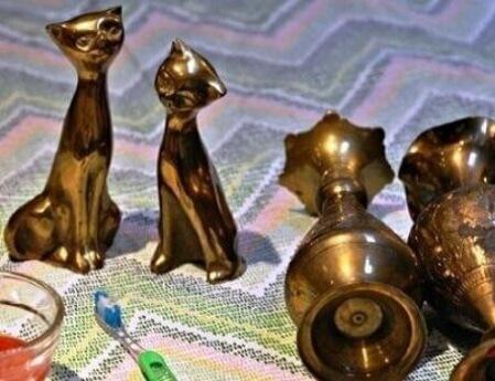 Уход за изделиями из бронзы