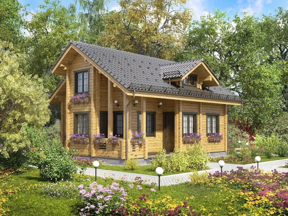 Дома в финском стиле