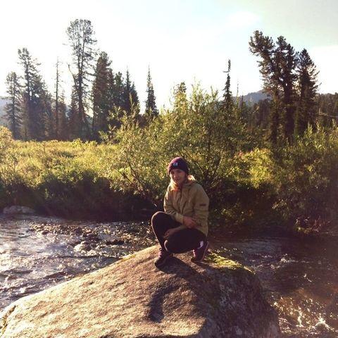 Катя и река