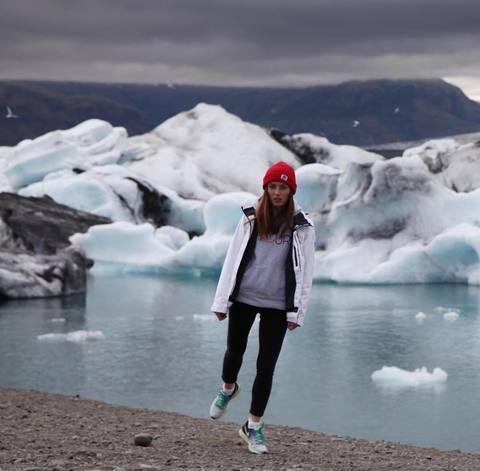 Динара среди льдов
