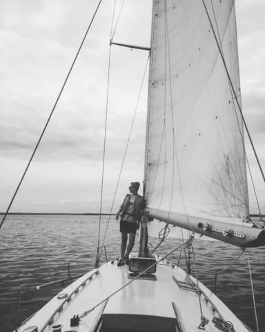 Жанна и яхтинг