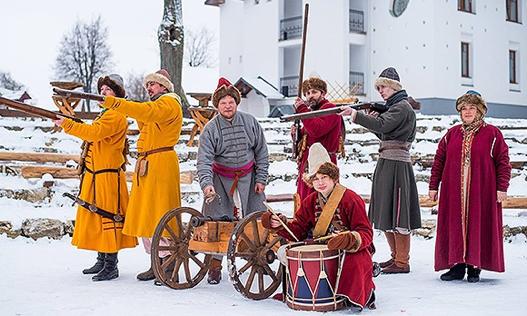 Пушкарский сбор в Суздали