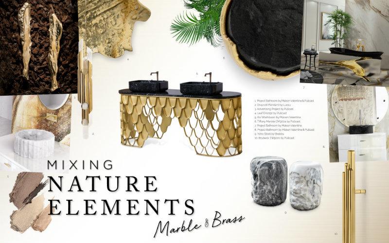 Микс природных элементов в дизайне