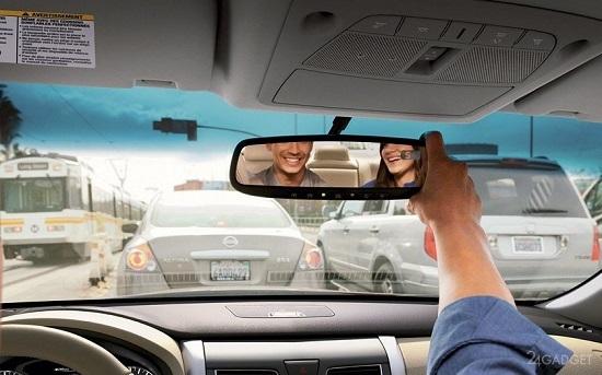 Xiaomi Smart Rearview Mirror - умный видеорегистратор-зеркало заднего вида для автомобиля