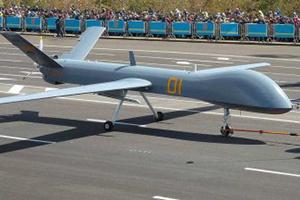 Китай тестирует композитный беспилотник