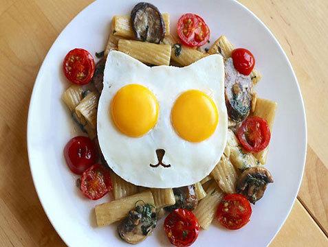 Форма для яичницы Cat Egg Molds для тех, кто любит котиков
