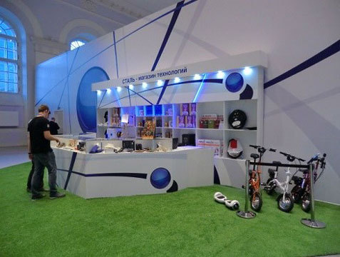 Моноколеса и гироскутеры Wmotion на выставке в Манеже