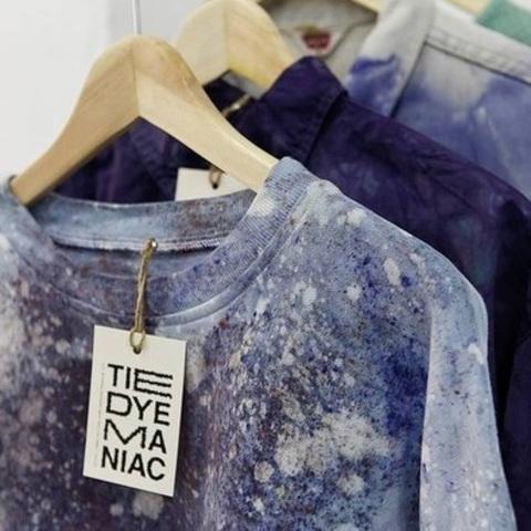 Окрашивание готовой одежды методом Garment dyed